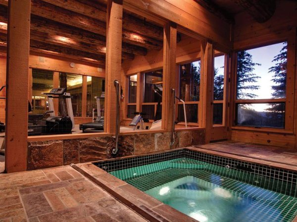 Amazing Log Cabin Home In Park City Utah Home Design Garden