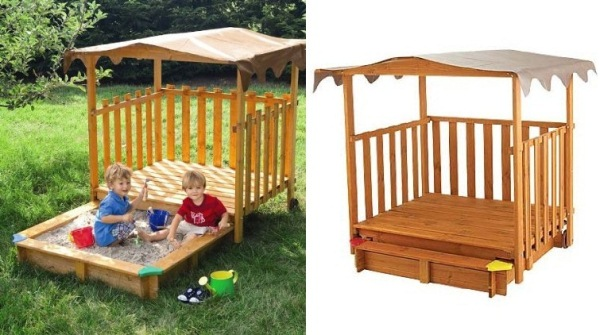 Cabana With Sand Pit Perfect Place To Play For Children S
