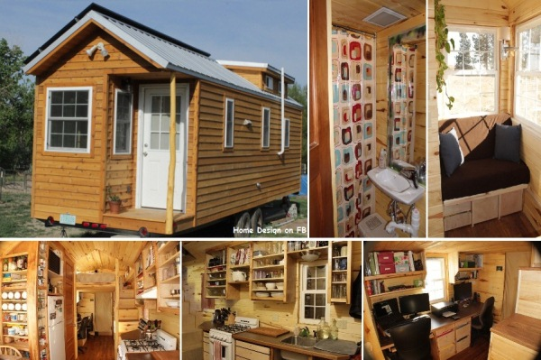A great example for a tiny and cozy home home design for Great tiny homes