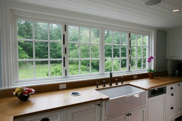 large kitchen window home design garden architecture