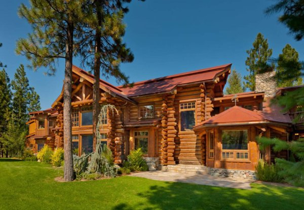 Sierre retreat ranch home design garden architecture for Ranch log homes