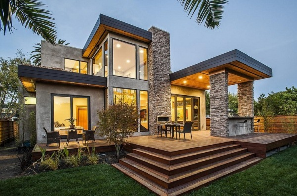Contemporary Home Modern House 600 x 396