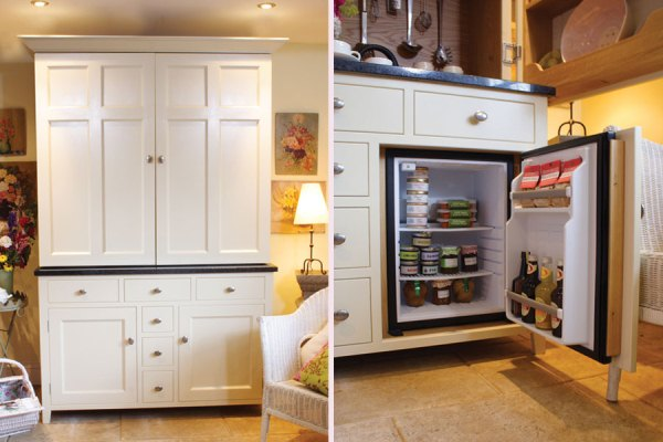 Space Saving With A Kitchen In A Cupboard Home Design