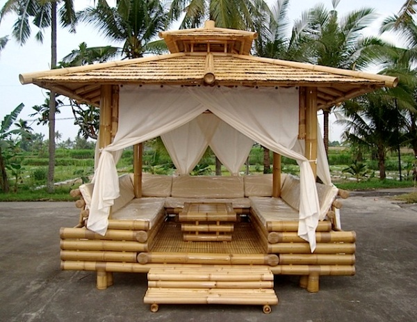 exquisite bamboo wood gazebo home design garden architecture blog magazine. Black Bedroom Furniture Sets. Home Design Ideas