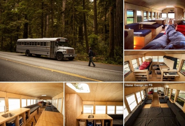 Cool And Unique Features With Mobile Bus Home Smiuchin