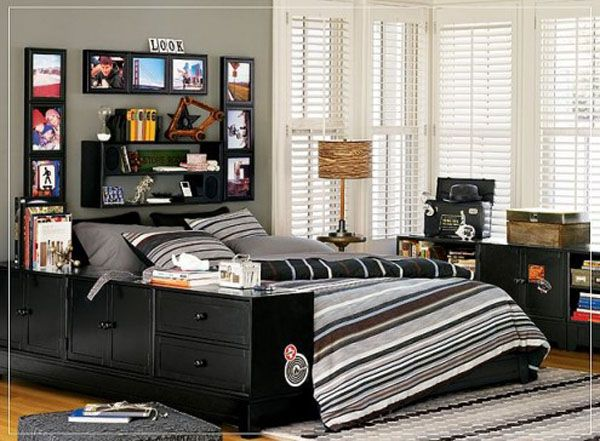 20 Bedroom Designs for Teenage Boys | Home Design, Garden ... on Small Room Ideas For Teenage Guys  id=24179