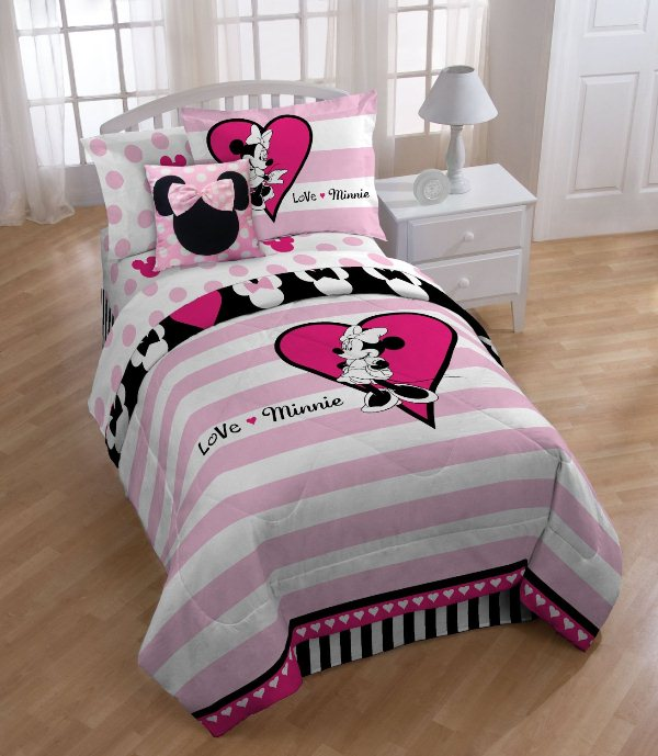 minnie mouse bedroom sets disney minnie mouse bedding set home design garden 16200