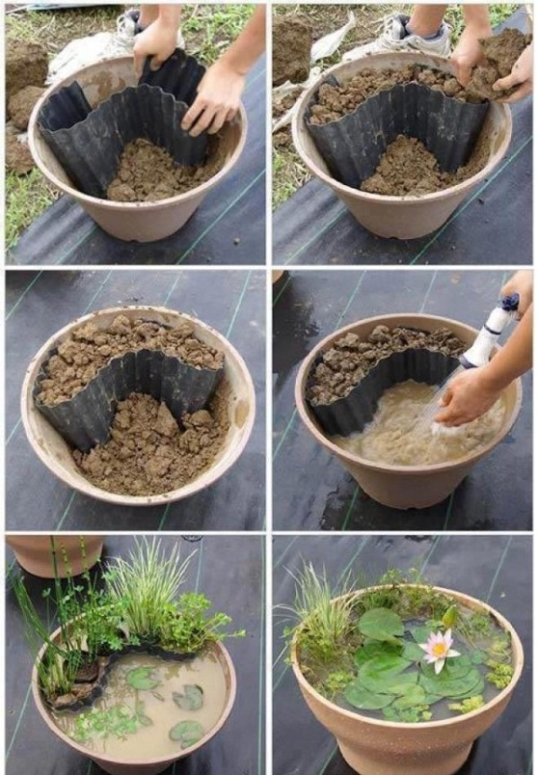 DIY-Containers-Garden-Pond-10