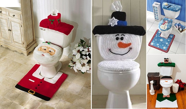 Christmas-Toilet-Seat-Cover